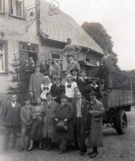 Gauturnfest 1925 in Walldürn: Teilnehmer aus Tauberbischofsheim