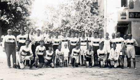 Tauberbischofsheimer Teilnehmer am Hermannlauf 1925