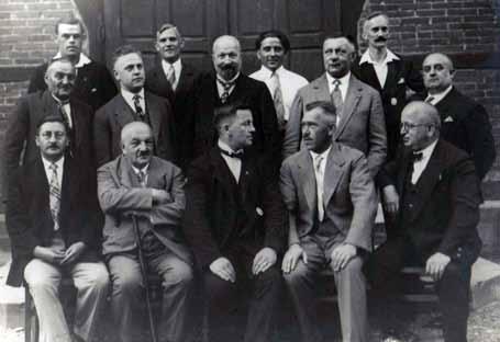 Vorstand des Turnvereins, ca. 1930