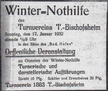 Winternothilfe