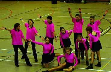 Auftritt Rock´n´Roll-Jugend Turnshow TBB, 2001