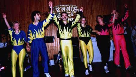 Auftritt in Grünsfeld, 1990