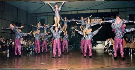 Auftritt zum 25. Jubiläum Städtepartnerschaft TBB-Vitry, 1991