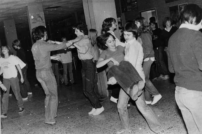 im Matthias- Grünewald-Gymnasium, 1978