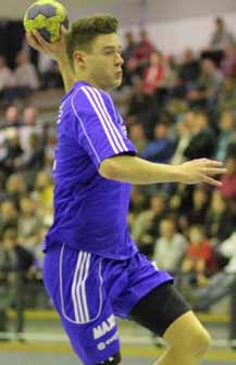 Jan Winkler hier als Spieler des HBLZ Großwallstadt 2011/12
