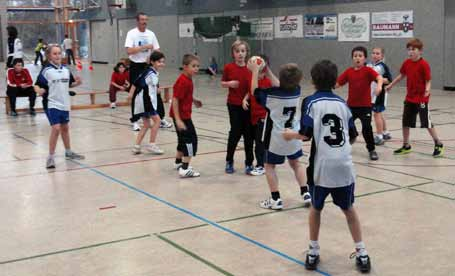 Spielfest der Handballminis 2011